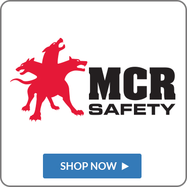 We are proud to offer MCR Safety Products.