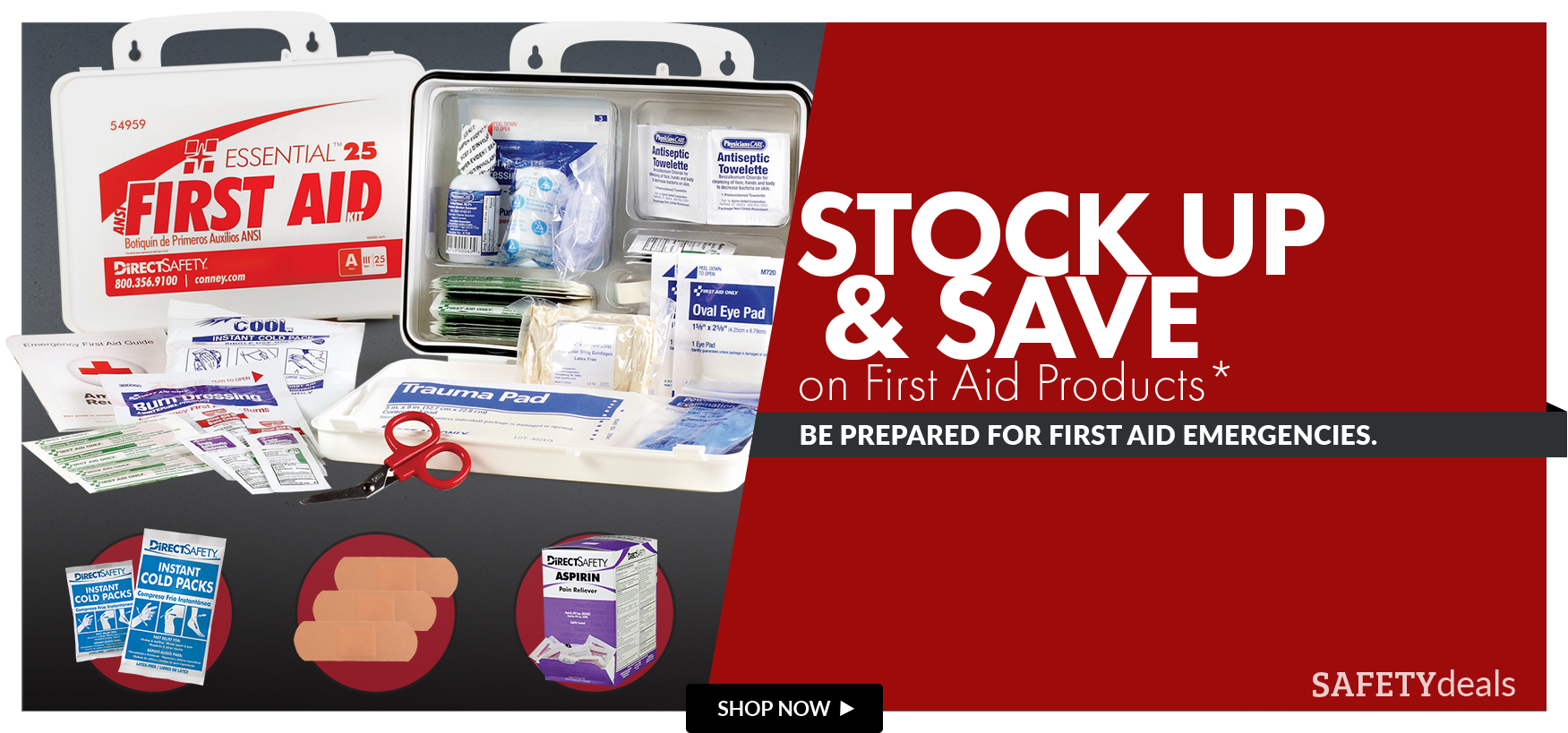 First Aid Promo 30% off First Aid