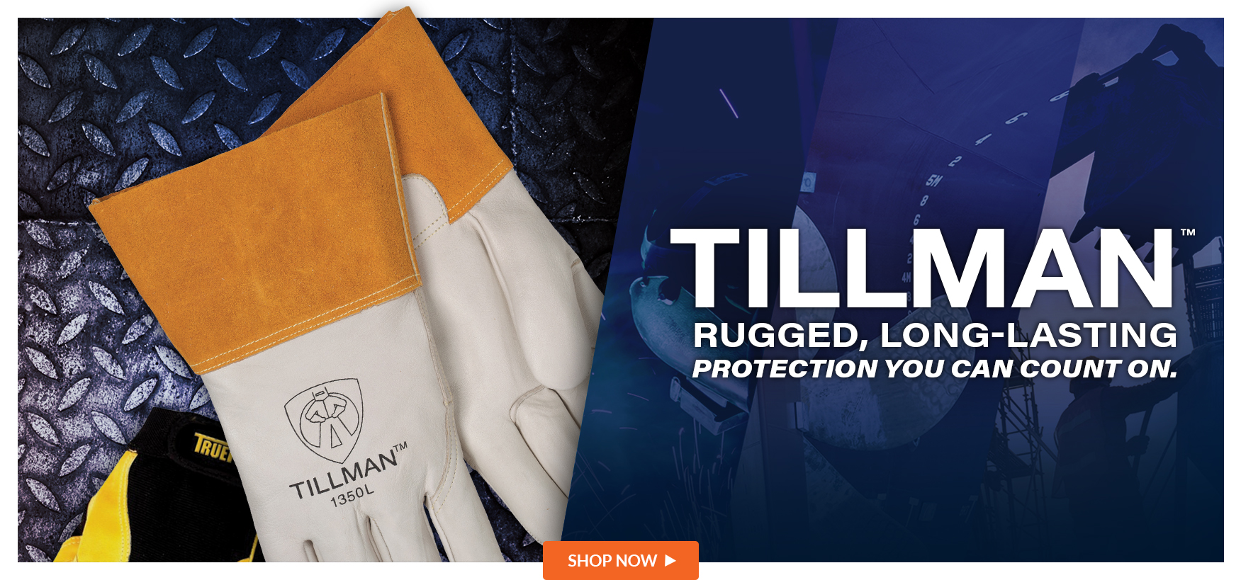 We are proud to offer Tillman Products.
