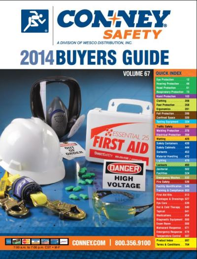 Conney Safety Buyers' Guide Cover
